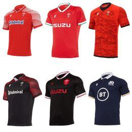 2020 2021 Wales Schottland Rugby-Trikot 20 21 zu Hause weg Welsh Pathway Größe S-5XL Scottish Hemd Maillot Camiseta Maglia im Angebot