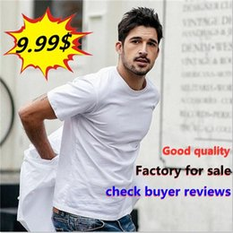 longline shirts for men Canada - 2021 good quality factory for sale Curved Hem Hip Hop T-shirt Men Urban Kpop Extended T shirt Plain Longline Mens Tee Shirts Male Clothes