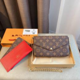 Großhandel Die Frauen Leder Messenger Mode luxurys Designer-Taschen für Männer Schulter Geldbeutel Handtaschen diagonales Rucksack PortemonnaieLVLOUISVUITTON