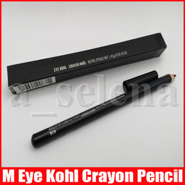 Wholesale M Eye Makeup Kohl Crayon Eyeliner Pencil Natural Waterptoof Cool Black Eye Liner Pen 1.45g