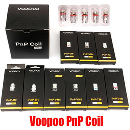 Voopoo PnP Coil Head VM1 VM3 VM4 VM5 VM6 TM1 M2 Mesh R1 R2 Vape Core for Vinci R X Drag S Argus RX Air Vapor With Code on Sale