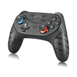 Discount dual joysticks For Switch Pro Wireless Bluetooth Gamepad Joystick Game Controller with Dual-motor Vibration 6-Axis Gyro Game Handle
