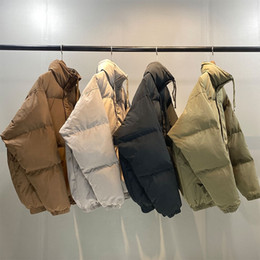 Wholesale Mens Parkas 2020 Winter Warm Cotton-padded Jackets Thick Windbreakers Parkas Jackets Woman Man Down Coat Overcoats tactical Gear Outerwear
