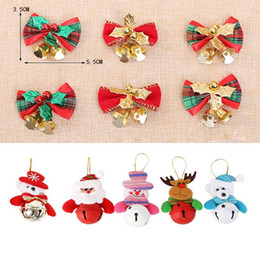 christmas tree wreath 2021 - 2pcs 5.5x3.5cm New Christmas decorations Christmas bows, bells, gifts, tree wreaths, decorative accessories1 discount ch
