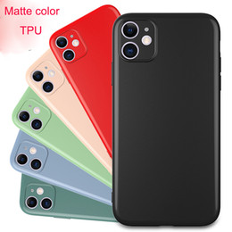 iphone x phone case 2020 - Fine hole color matte TPU phone case for samsung galaxy note 20 ultra s10 s20 for iphone 12 pro max 11 pro xs discount i
