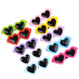 sunglasses for dogs UK - New Pet Lovely Heart Sunglasses Hairpins Pet Dog Bows Hair Clips For Puppy Dogs Cat Yorkie Teddy Pet Hair Decor Supplies bbyRam lg2010