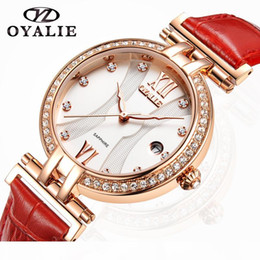 colorful diamonds watches Australia - 2020 New Women Watch Colorful Womens Casual Design Leather Female Quartz Diamond Wristwatch luxury Designer Watchproof