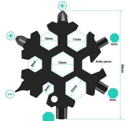 Openers Hex 18 Pocket Keyring Hot Key Dhl Survive Ring Multipurposer Snowflake Multi Multifunction Tool Outdoor 1 Spanne Camp Hike KKF2360 on Sale