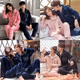 Wholesale mens satin pajamas resale online - Silk Pajama Sets Flower Printed Sleepwear Suits Short Couples Pyjamas Male Satin Mens Pajamas Casual Flower Printed Sleepwear Mens Summer