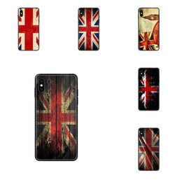Weiche Personalisierte Muster Retro Uk Nationalflagge für Apple iPhone X XR XS 11 12Pro MAX 5S 5C SE 6S 7 8 Plus 2020