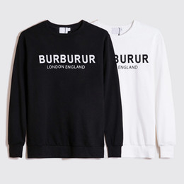 Wholesale winter sweatshirts for men resale online - Winter Europe LONDON ENGLAND Designer Luxury for Mens letter print hoodies fashion Sweatshirt Womens Casual pullover letter print jumper