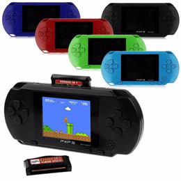 Wholesale 3 Inch 16 Bit PXP3 Slim Station Video Games Player Handheld Game Free Game Card Console with 150 Classic Games