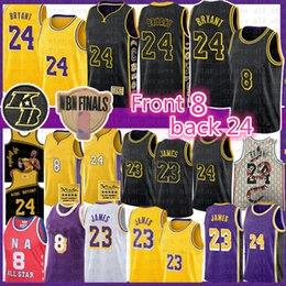 Carmelo 8 24 Anthony Basketbol Jersey Lebron 23 james Blazer BRYANT NCAA Erkekler Gençlik Çocuklar Aşağı Merion Los AngelesLakersKobe00
