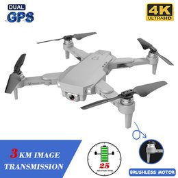 XKJ Gps Drone LU1 PRO With HD 4K Camera Professional 3000m Image Transmission Brushless Foldable Quadcopter RC Dron Kids Gift on Sale