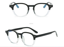 Wholesale 1pcs newest woman man Blue-proof glasses frame Flat mirror for men and women Computer glasses frame mobile phone optical lens free shipping