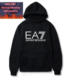 Wholesale mens large hoodie for sale – custom Sports Sweatshirt Hoodie Men Women Jacket Long Sleeve Logo Autumn Windbreaker Mens Clothes Large Size Hoodie z8 emporio