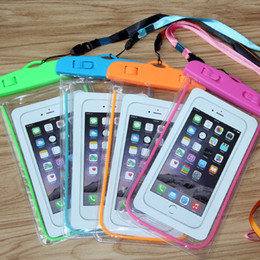 Wholesale waterproof for iphone for sale - Group buy Dry Bag Universal Waterproof Case High Clear Camera Use Soild For Iphone pro max Samsung Galaxy s20 ultra note OPP Pack