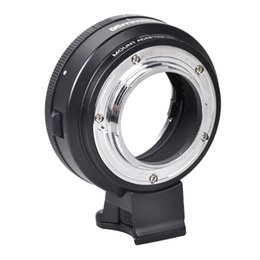 Wholesale For Nikon AI F lens to Micro 4 3 Adapter Ring with Aperture Dial f  E-P5 GF6 GF7 GF3 G3