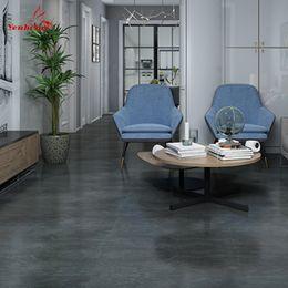 Wasserdichte Bodenaufkleber Self Adhesive Marmor Tapeten Badezimmer-Wand-Aufkleber Haus Renovierung Abziehbilder DIY Wand-Boden-Dekor im Angebot