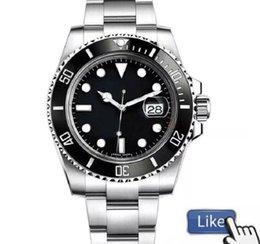 Wholesale 2021 Luxury Fashion Ceramic Black Bezel New Mens Mechanical SS 2813 Automatic Movement Watch Sports men Designer Watches Wristwatches vakcak