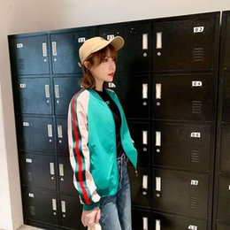 Wholesale free postage clothing online – design The new autumn baseball clothing fashion casual embroidery jacket high end elegant figure fabric comfortable soft free of postage