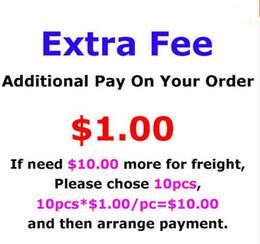 Toptan satış Denge Ücreti sadece düzenin ekstra maliyet nakliye ücreti, özelleştirme adı veya ekstra yama veya speciall boyutu, 1 Piece = 1USD için