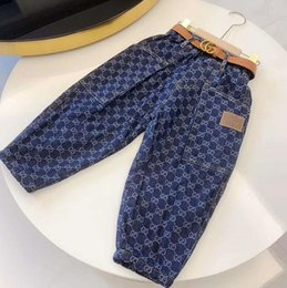 Wholesale boy lines for sale – custom A201 Luxury Baby Boys jeans Baby Boys trousers Clothing Baby Girls Boys Clothes