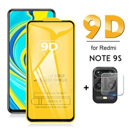 Wholesale tempered glass for xiaomi note resale online - 2 in Screen Protector Camara Lens on Redmi note s s Tempered Glass For Xiaomi Redmi note pro pro max cristal templado