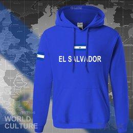 Wholesale el salvador online – design El Salvador hoodies men sweatshirt sweat new hip hop streetwear tracksuit nation footballer sporting country Salvadoran SLVX1014