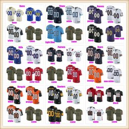 Custom American football Jerseys For Mens Womens Youth Kids new fashion style Name Number Color New Player Version jersey pewter 4xl 5xl 6xl