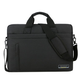 Wholesale china shipping computers resale online - single shoulder computer bag universal laptop bag inch computer protection bag