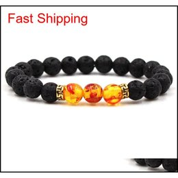 Discount cheap bracelets for wholesale Mens Bracelets Luxury Jewelry Bead Natural Stone Jewelry Cheap Anchor Beaded Buddha Bracelets For Men Women qylTAD nana_shop