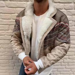 Herren Oberbekleidung Mantel Jacke Neu Nähte Baumwolle Warm Anzugkragen