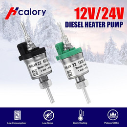 Wholesale electronic park for sale - Group buy Hcalory v v KW KW Fuel Dosing Pump Electronic Pulse Metering Pump For Webasto Car Air Diesel Parking Heater For Truck1