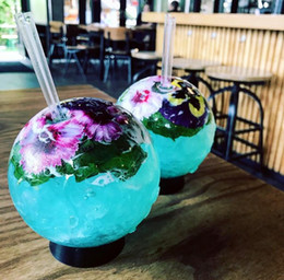 Kokteyl Gözlükleri, Serin Küre Yaratıcı Kokteyller Yaratıcı Bardak Bar Içme Suyu Viski Restoran Bar Partisinde Popüler
