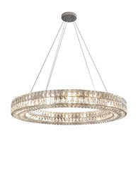 Discount led luminaire design Luxury design crystal suspension chandelier lighting living room Kitchen island hanging lamp crystal luminaire home decor Modern