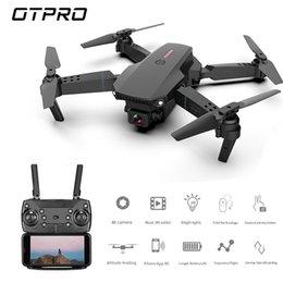 Wholesale OTPRO Drone 4K EXA Dron with HD Camera Live Video Drone X Pro RC Helicopter FPV Quadrocopter Drones WIFI DRON VS Drone E58 E520 201208