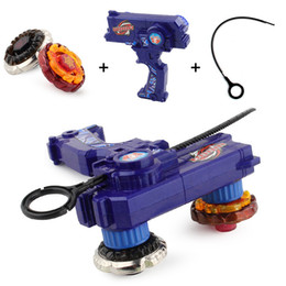 beyblades toys 2020 - 2pcs beyblades Burst metal fusion toy with launchers bayblade launch two beyblades at the same time Classic child battle