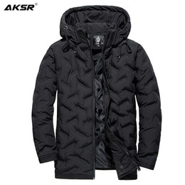 Wholesale jackets for men's for sale - Group buy Men s Winter Jackets Large Size Thick Warm Hooded Coats for Men Oversized Winter Male Jacket Outwear Windbreakers Mens Clothing