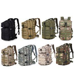 Ingrosso Sport all'aperto Borsa da pacchetto tattico impermeabile / zaino / zaino / Zaino / Assault Combat Camouflage Tactical Camo Molle 35L Zaino NO11-034