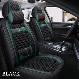 Universal Car seat covers for Volkswagen polo golf tiguan Passat Protective cover Leather Interior decoration accessories on Sale