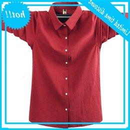 Wholesale rebecca online – design New large XL high end cotton long sleeve dress collar back Rebecca shirt brand men s clothing