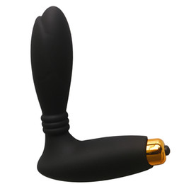 10 Speed Anal Plug Prostate Massager Soft Anal Vibrator Sex Toys For Man Gay Butt Plug Silicone Adult Maturbation Big Size CE Rohs FDA OEM