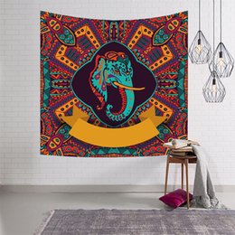 Wholesale india cloths resale online - India Hanging Cloth Live Room Rental Room Decoration Wall Cloth Dormitory Bedroom Bedside Tapestry DHL Free