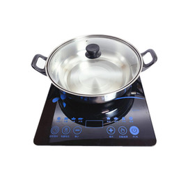 Wholesale Induction Cooker Ultra-thin Touch Control LED Set High-power Home Kitchen Indoor Electric Cooking Cooking Induction Cooker Gift Soup Pot