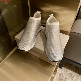Exquisite luxurious rhinestone inlays adornment casual shoe square head to cover foot low heel female shoe