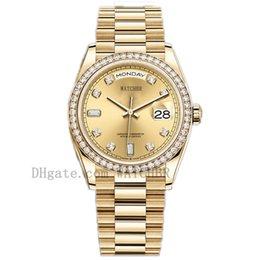 Watchbr-U1 40mm 36mm Mechanical Automatic Watch Diamond Mens Watch Date Watch Lady Women DiamondWatch Waterproof Luminous Watches on Sale