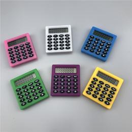 Pollado Portátil Calculadora Científica Pequeño Estudiante Pequeño Aprendizaje Esencial Dígito Calculadora Mini Oficina Escuela Papelería en venta