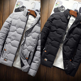 Wholesale long puffer vest resale online - wrKd north New Winter men039 s oversize Bright side Down puffer jacket Casual Brand Hoodies Down Parkas Warm Ski Mens face vest