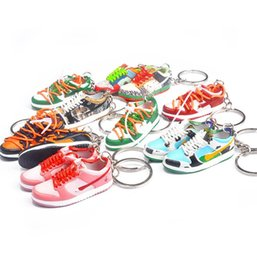 Pure Handmade Travis Scott Basketball Shoes Model 3D Men and Women Key Car key chain Chains Individual Creative Collection Crafts on Sale
